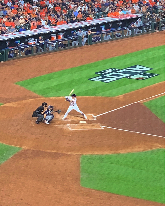 Astros beat the Tampa Bay Rays 6-2 at Minute Maid Park on Friday to take a 1-0 lead in the ...