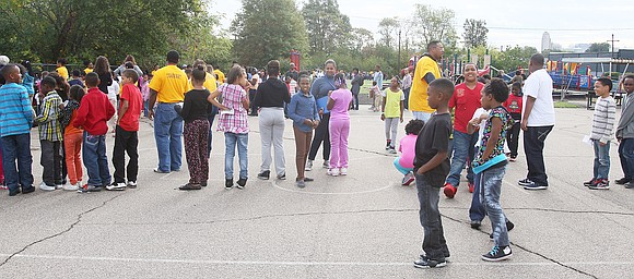 Carver Elementary School in Richmond had a banner day on Sept. 19. A cadre of businessmen surprised an assembly of ...