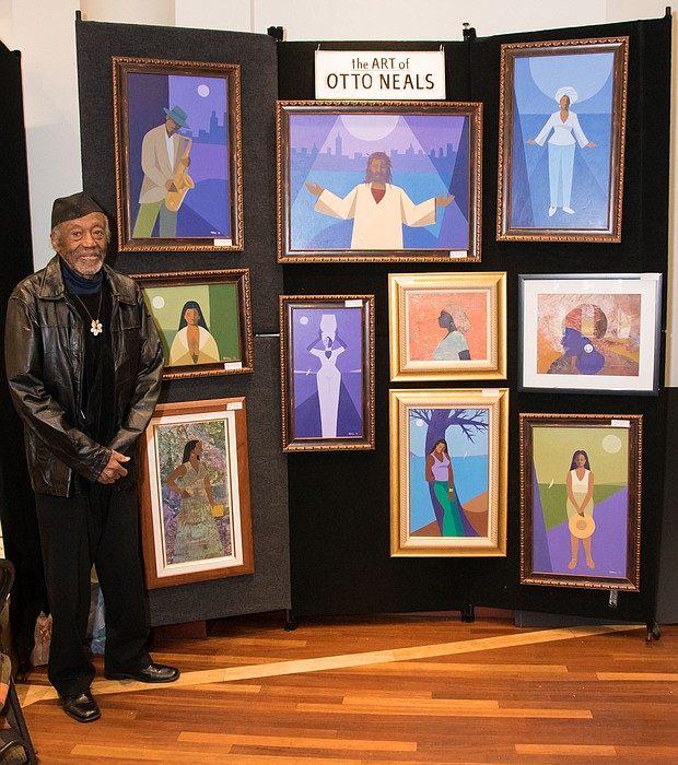 Visual artist Otto Neals