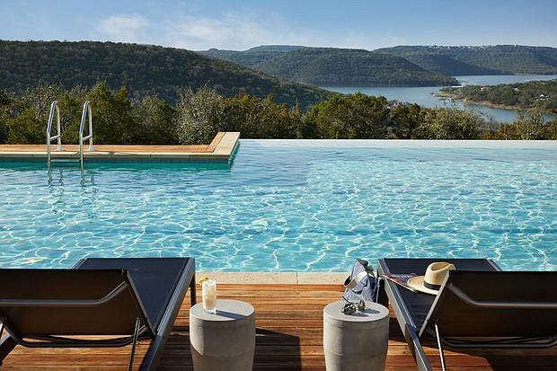 Miraval Austin serenity pool/JamesBaigrie