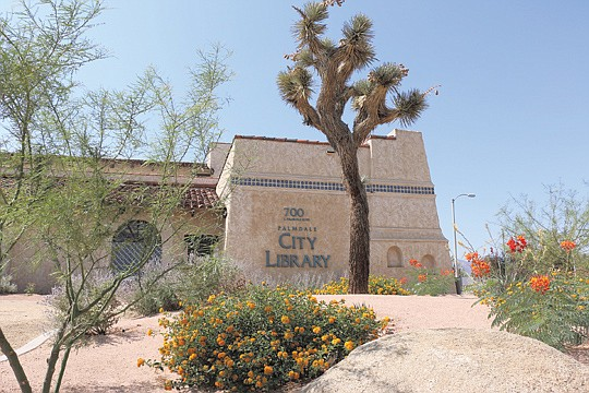 The Palmdale City Library, 700 E. Palmdale..
