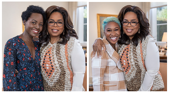 Oprah Winfrey sits down one-on-one with the award-winning actresses Lupita Nyong'o and Cynthia Erivo, who discuss their fast rise to ...