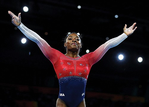 American brakes all-time record for medals by any gymnast