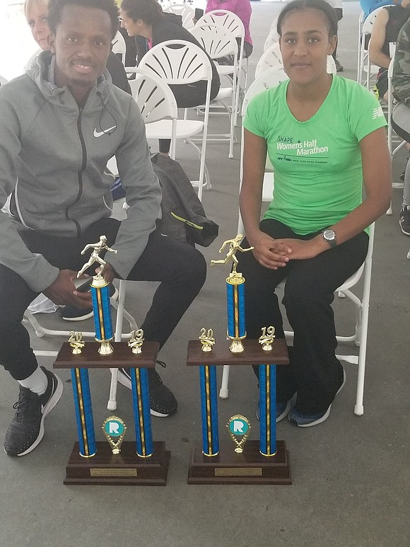 There was no sleeping in last Sunday morning for participants in Brooklyn's 38th annual 10K Run and 5K Walk held ...