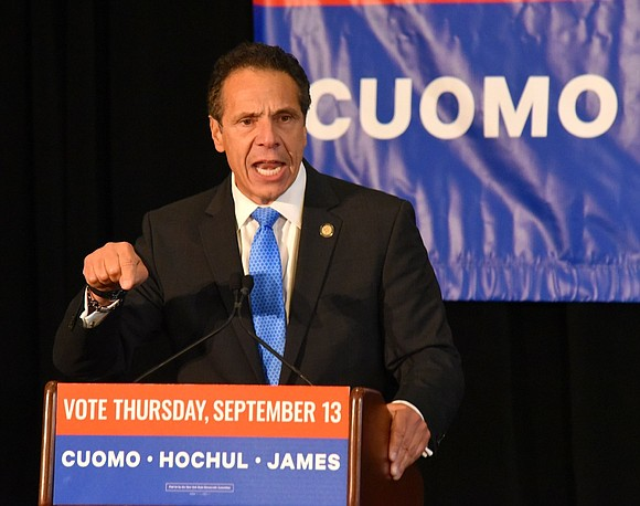 New York State Gov. Andrew Cuomo's new $212 billion budget increases taxes on the wealthy, provides aid for those excluded ...