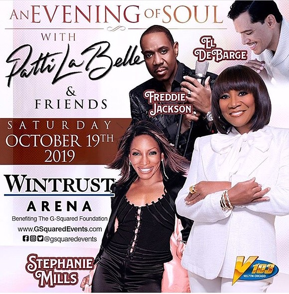 """G-Squared Events is excited to announce their upcoming event entitled """"An Evening of Soul"""" with Patti LaBelle, Stephanie Mills, Freddie ..."""