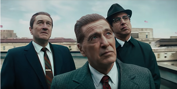 """Martin Scorsese's """"The Irishman"""" is three hours and 30 minutes long and everyone important dies, but that's Martin Scorsese."""