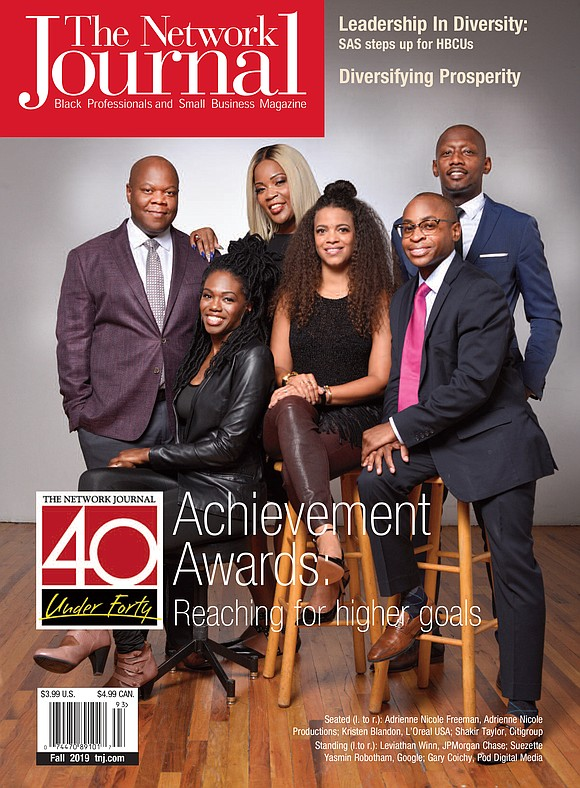 "The Network Journal is hosting their 22nd annual ""40 Under 40"" achievement awards ceremony honoring impactful African American professionals this ..."