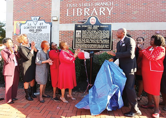 It took seven months, but a second state history marker was unveiled Sunday honoring civil rights icon the late Dorothy ...