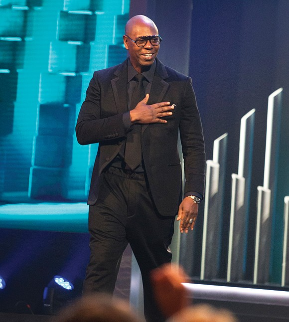 comedian dave chappelle honored with mark twain prize richmond free press serving the african american community in richmond va comedian dave chappelle honored with