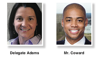 Democratic Delegate Dawn Adams is running for re-election to keep her seat in the 68th House District, where she is ...