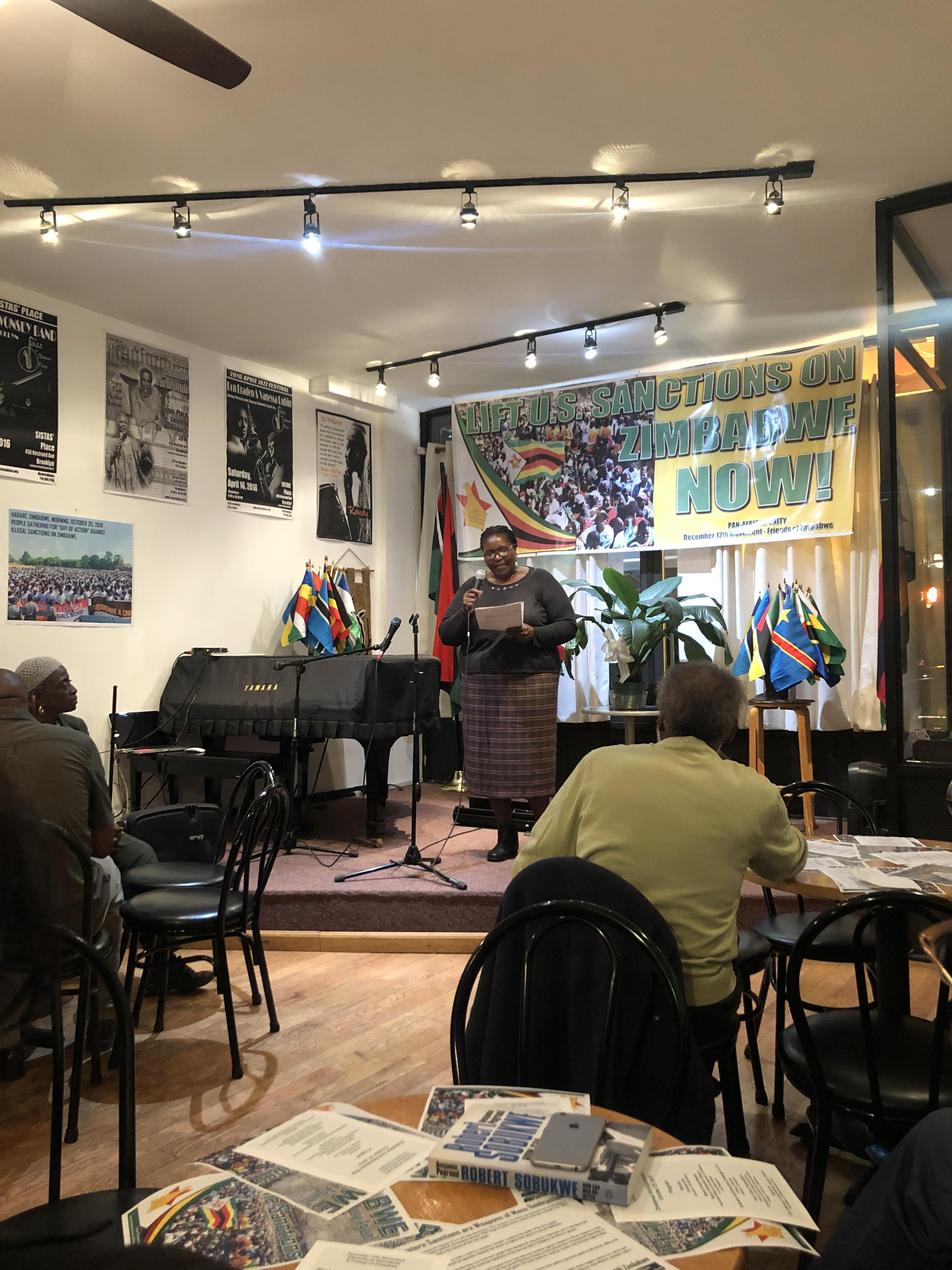 Africans And Africans In The Diaspora Fight To Lift Illegal Sanctions Against Zimbabwe New York Amsterdam News The New Black View