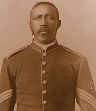 Moses Williams was a highly decorated Buffalo Soldier in the U.S. Army.