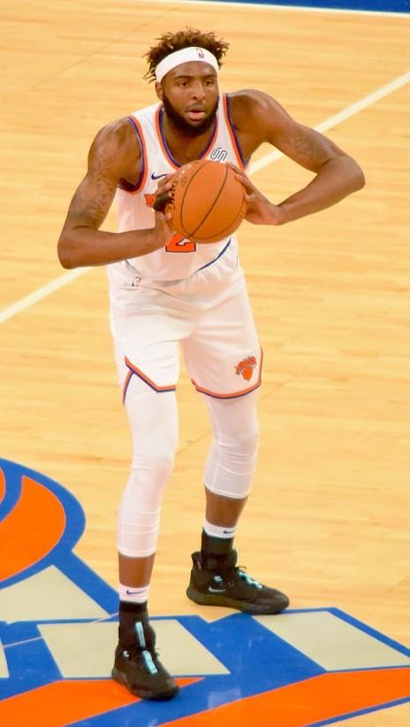 Knicks center Mitchell Robinson