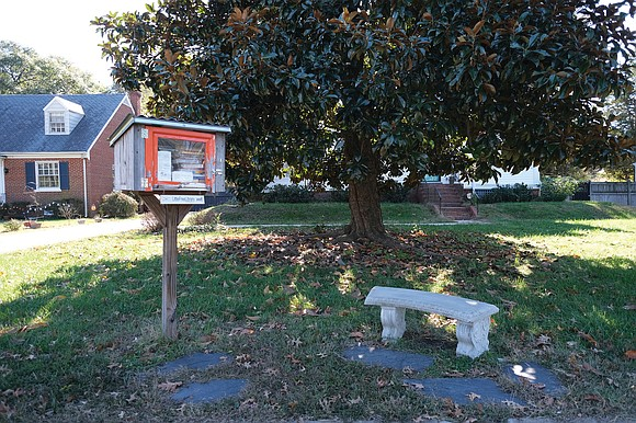 Booklovers who want to share their love of reading have placed a Little Free Library in their yard in the ...