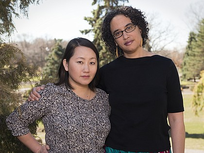 Editors Shannon Gibney and Kao Kalia Yang