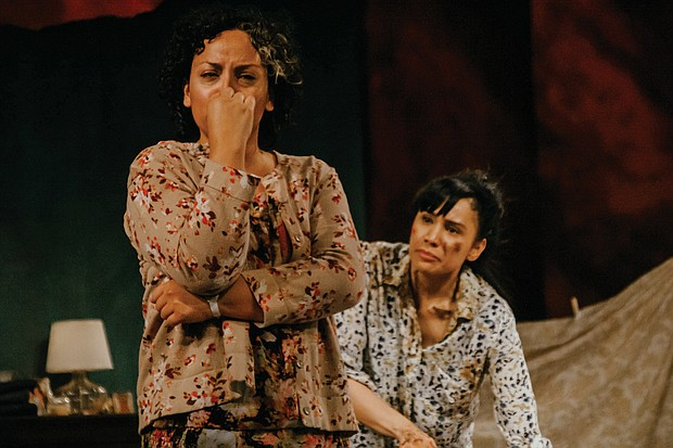 Cristi Miles and Naiya Amilcar in 'La Ruta,' a harrowing story that gives a voice to women who have disappeared or been murdered from the border community of Juarez, Mexico. Plays through Dec. 1 at Portland Opera, 211 S.E. Caruthers St. For tickets call 503-241-1278 or visit artistsrep.org.