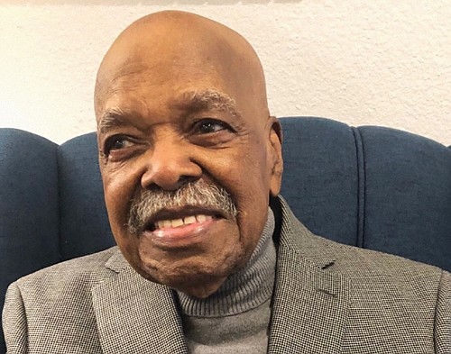 Herbert L. Amerson is celebrating his 100th birthday on Thursday, Nov. 14, 2019.