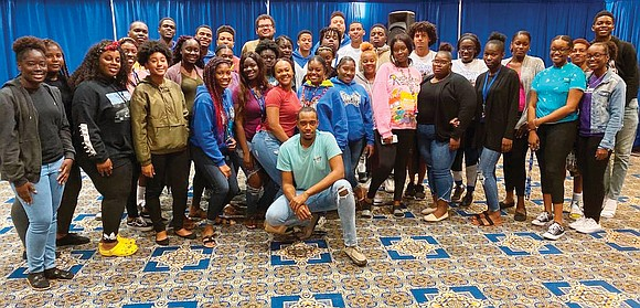 The 46 students from the Bahamas who were displaced from their colleges at home to Hampton University following Hurricane Dorian ...