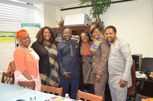 Downtown Brooklyn was the location for the Signature Kente Fest Brunch and Akwaaba Reception & Networking co-sponsored by Jerry Kobe ...
