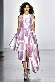 For spring/summer 2020, there were many NYFW designers who showed soft, romantic styles. The looks were long, often baring shoulders, ...