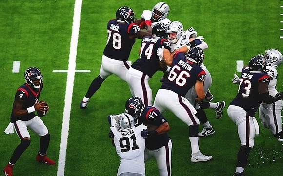 Over a month ago the Houston Texans were faced with a very difficult situation. They had to go into hostile ...