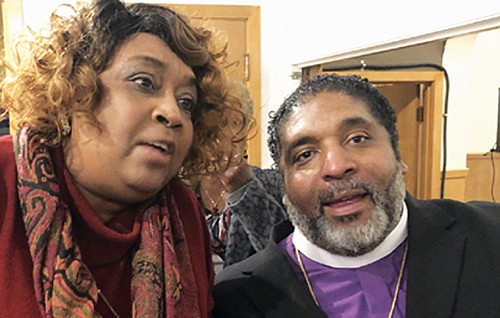 Rev. William Barber II, an outspoken advocate for social justice and grassroots activism, was keynote for Meyer Memorial Trust Equity ...