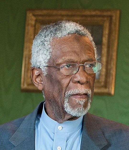 Bill Russell finally accepted his Basketball Hall of Fame..