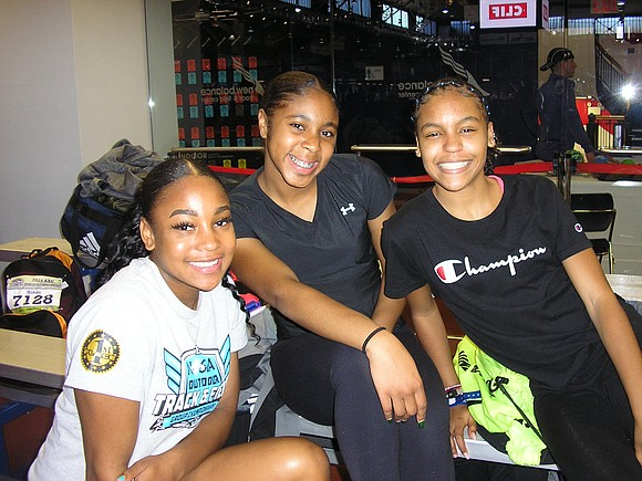On Saturday, hundreds of high school track and field athletes arrived at the Armory New Balance Track & Field Center ...