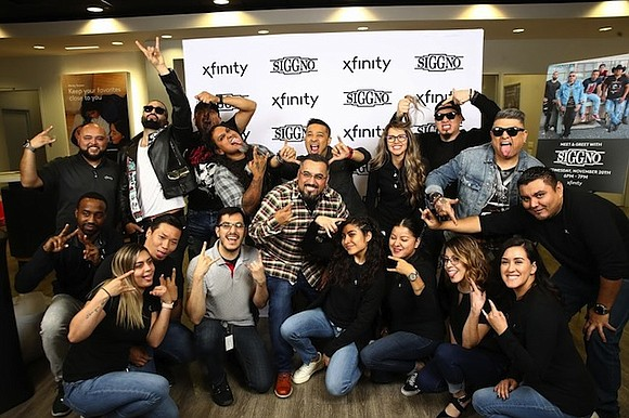 Xfinity opened the doors of their Pasadena store Wednesday, November 20, to bring family, friends and fans of Latin Grammy ...
