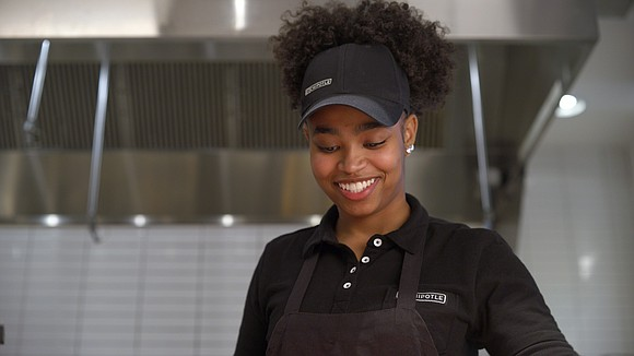Cheyenne Wright is rising through the ranks at Chipotle. After 5 years, Cheyenne has gone from crew member to kitchen ...