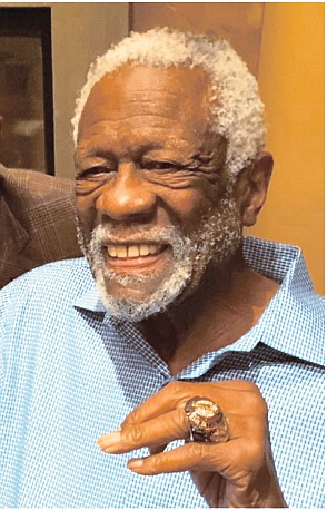 It took him 44 years, but Bill Russell finally accepted his Basketball Hall of Fame ring.