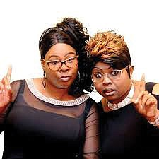Fox News personalities Diamond and Silk, who..
