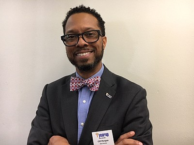Clifton Morgan, site director for Year Up Baltimore, a college and career development program for low to moderate-income students between the ages of 18 to 24. Approximately 83 percent of students who complete the program are employed and earn about $17 per hour.