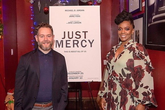 Prior to the HBCU screening of Just Mercy, film star and Georgia native, Spelman graduate and AKA, Karan Kendrick, hosted ...