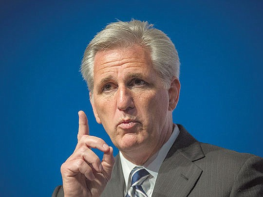 House Minority Leader Kevin McCarthy (CA-23) has announced..