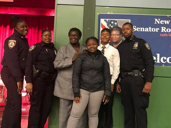 Sen. Roxanne J. Persaud, chair of the New York State Senate Social Services Committee, hosted a roundtable discussion with the ...