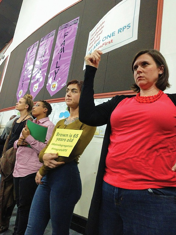 Parents and community members voiced opposition to several proposals to rezone Richmond Public Schools attendance districts, saying the plans are ...