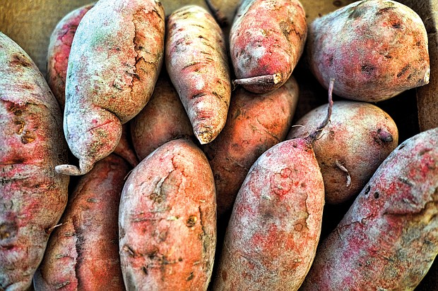 Yams at the 17th Street Farmers' Market