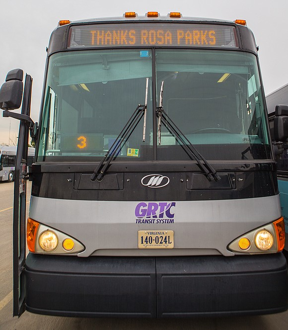 On Sunday, Dec. 1, the first passenger seat in every GRTC bus once again will be reserved in honor of ...