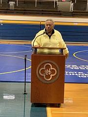 Former Coach Mac McLaughlin