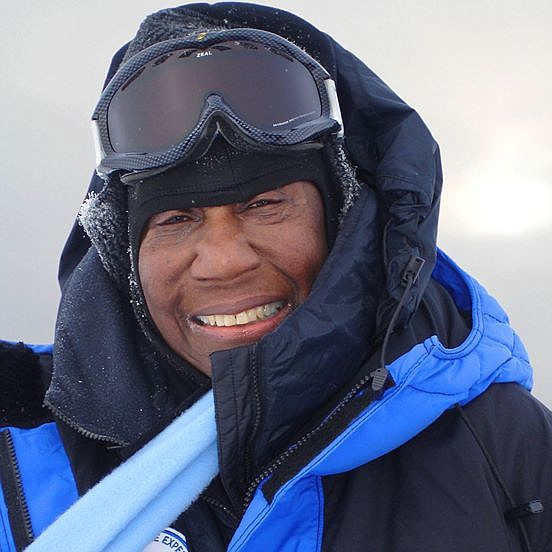 Barbara Hillary, the first Black woman to reach the...