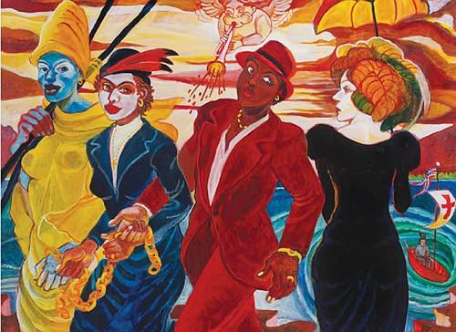 Exhibit showcases work of Portland artist Arvie Smith
