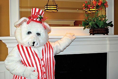 The Peppermint Bear once again saves Christmas in the 28th production of The Peppermint Bear Show, a breakfast theater production for kids and the whole family during December at the Lakewood Center for the Arts in Lake Oswego.