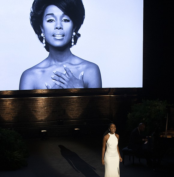 "Dianne Reeves' soul-stirring rendition of Paul McCartney's ""Black Bird,"" was a song Carroll's daughter, Suzanne Kay, said her mother specifically ..."