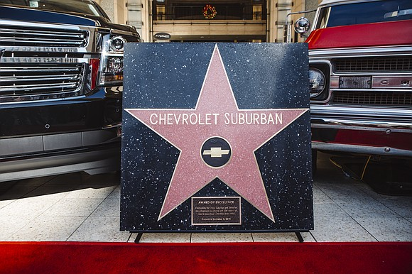 Today, the Chevrolet Suburban became the first vehicle ever awarded an Award of Excellence star at Hollywood & Highland. Presented ...