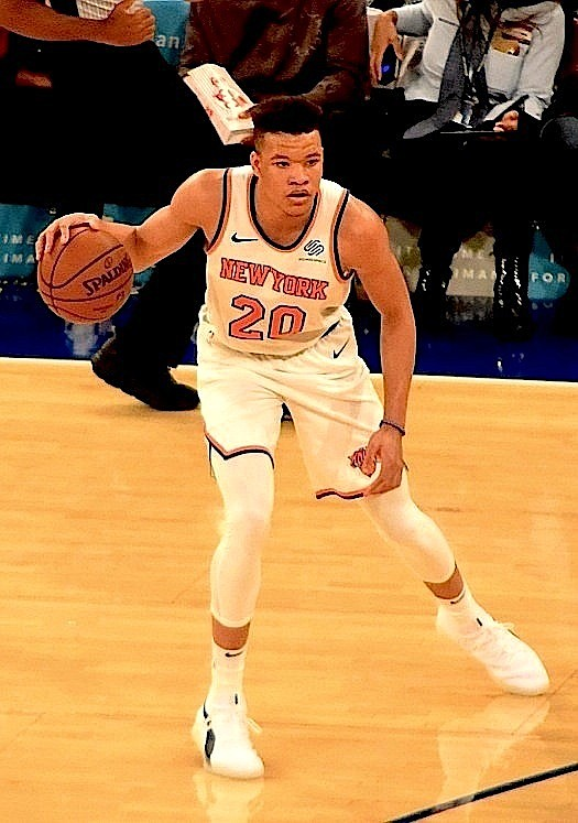 It may have reached a point at which the Knicks should completely commit to thoroughly assessing Kevin Knox, Mitchell Robinson, ...