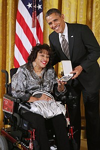 In 2012, Janice Jackson received the Presidential Citizen's Medal, the nation's second-highest civilian honor, from President Barack Obama at the White House.