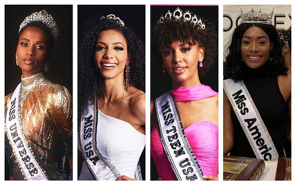 For the first time, top beauty pageants — Miss USA , Miss Teen USA, Miss America and now, Miss Universe ...