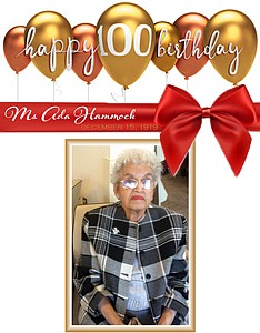 Haddock was born in New York in 1919, but for the past 21 years, she has lived at Westminster Senior ...